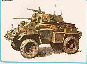 LAMINA 4208: HUMBER MK IV Auto blindado: Varios