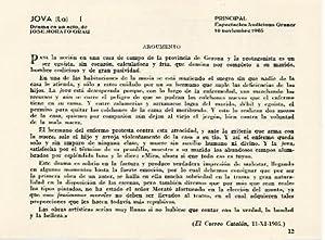 LAMINA 2698: Argumento de La Jova. Principal: Jose Maria Junyent