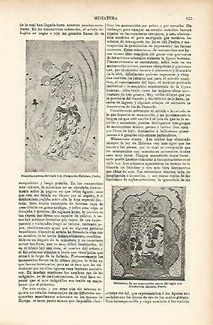 LAMINA ESPASA 5211: Miniaturas persas: Varios Autores