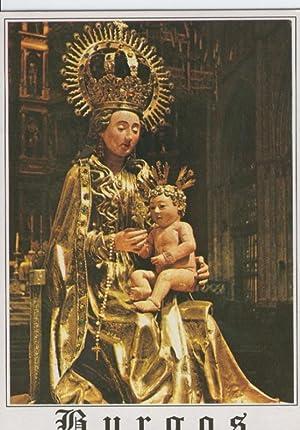 Postal 012854: Virgen Santa Maria la Mayor,: Varios
