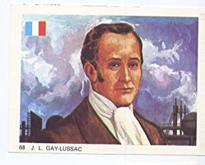 Cromos: Hombres Famosos numero 068: J.L.Gay Lussac: Varios