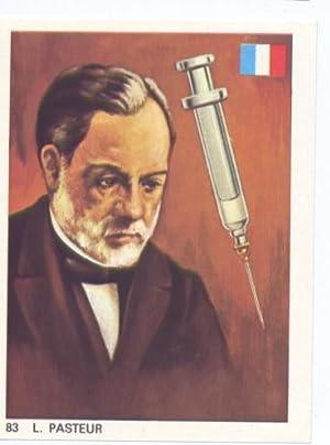 Cromos: Hombres Famosos numero 083: L.Pasteur: Varios