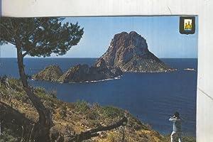 Postal 005487 : Islote Vedra (Ibiza),recortada lateral: Varios