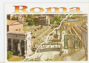 Postal 023281 : Il foro Romano, ieri: Varios