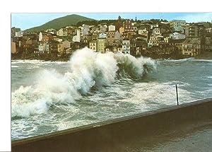 Postal 028851 : Galicia, Rompeolas en la: Varios