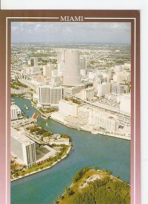 Postal 046896 : Miami Florida. Miami River: Varios