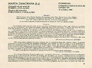 LAMINA 2671: Reparto y criticas de la: Jose Maria Junyent