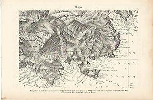 LAMINA ESPASA 4026: Mapa de las costas: Varios Autores