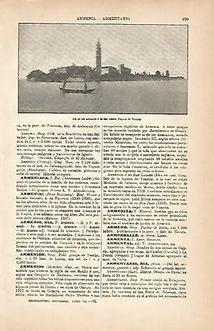 LAMINA ESPASA 5603: Isla de los Armenios: Varios Autores