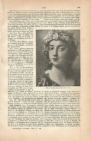 LAMINA ESPASA 5662: Asia por Rosalba Carriera: Varios Autores