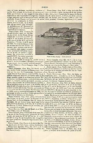LAMINA ESPASA 10559: Porto Ercole Italia: Varios