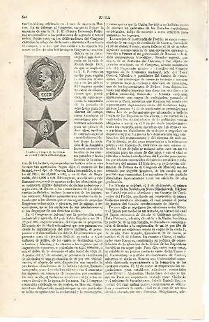 LAMINA ESPASA 14036: Condecoraciones de la Orden: Varios