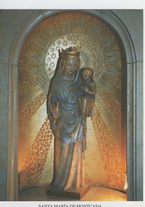 Postal Virgenes 374 : Santa Maria de: Varios