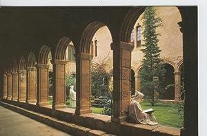 Postal 6674: Monasterio Poblet: claustro San Esteban: Varios