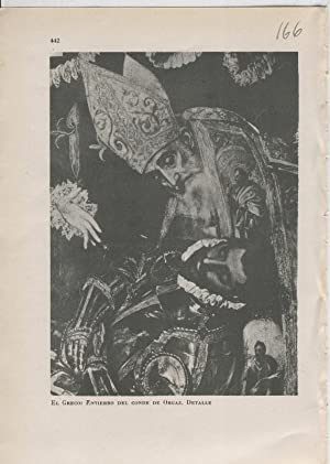Arte Hispanico lamina numerada 166: El Greco: Varios