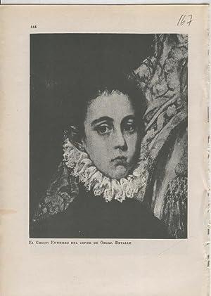 Arte Hispanico lamina numerada 167: El Greco: Varios