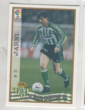 Cromo Liga 97/98: Betis numero 79: Jarni: Varios