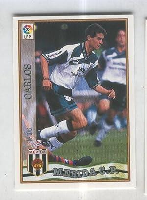 Cromo Liga 97/98: C.P.Merida numero 376: Carlos: Varios