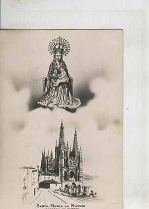 Postal 010287: Virgen Santa Maria La mayhor,: Varios