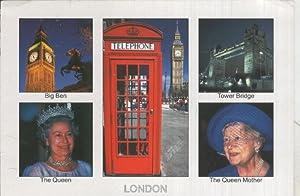 Postal 005321 : London: Varios