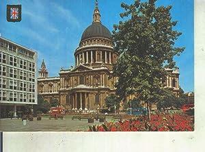 Postal 013328: Catedra St. paul en Londres,: Varios