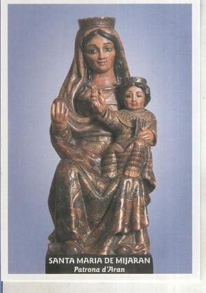 Postal 015099: Virgen Santa Maria de Mijaran,: Varios