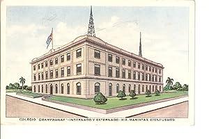 Postal 020187 : Colegio Champagnat - Internado: Varios