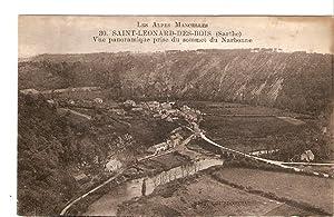 Postal 026800 : Les Alpes Mancelles. Saint-Leonar-des-Bois: Varios