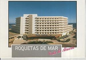 Postal 015963: Hotel Sabinal en Roquetas de: Varios
