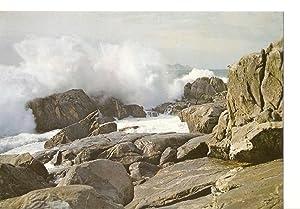 Postal 030752 : Galicia. Rompeolas: Varios