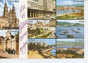 Postal 032310 : Galicia. Rompeolas en la: Varios