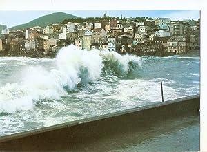Postal 034876 : Galicia. Rompeolas en la: Varios