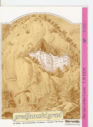 Postal 035710 : The Castle of Predjama: Varios