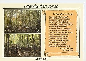 Postal 040495 : Santa Pau (Girona). Zona: Varios
