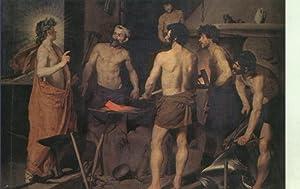 Postal : Museo del Prado: La fragua: Varios