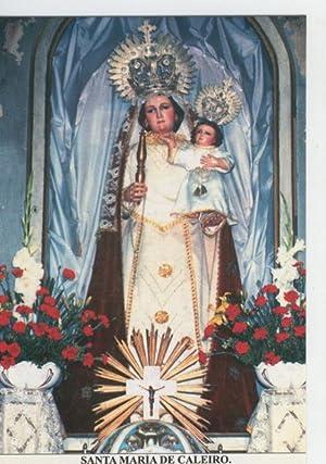 Postal Virgenes 328 : Santa Maria de: Varios
