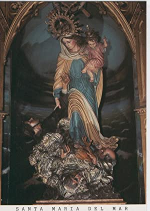 Postal Virgenes 432 : Santa Maria del: Varios