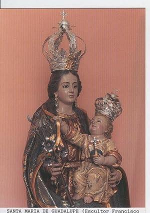 Postal Virgenes 0314 : Santa Maria de: Varios