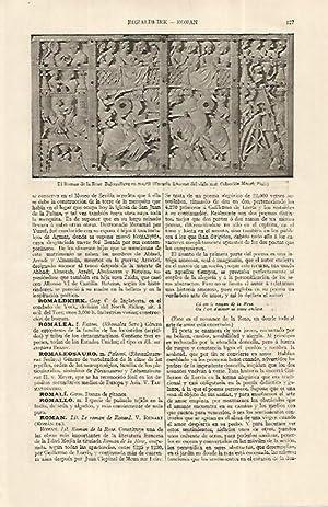 LAMINA ESPASA 19202: El Roman de la: Varios