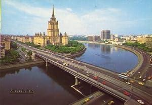 POSTAL 57389: Mockba. Kalinin Bridge and Ukraine: Varios