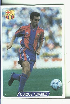 Cromos: Super Futbol liga 96: F.C.Barcelona: Quique: Varios
