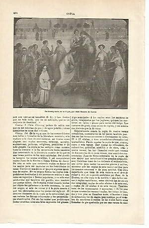 LAMINA ESPASA 14908: La Consagracion de la: Varios