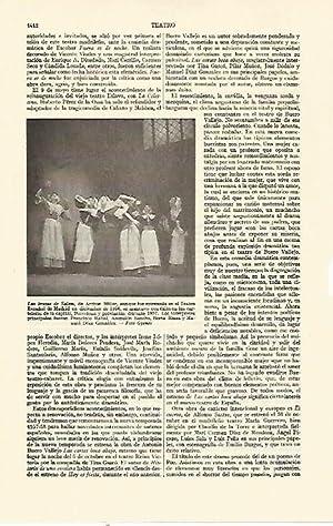 LAMINA ESPASA 21864: Las Brujas de Salem: Varios