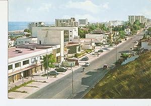 Postal 028865 : Torremolinos (Malaga), Avenida de: Varios