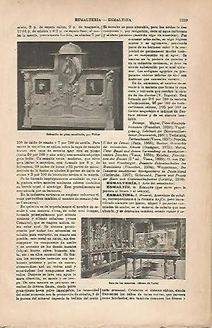 LAMINA ESPASA 18986: Sala de los esmaltes: Varios