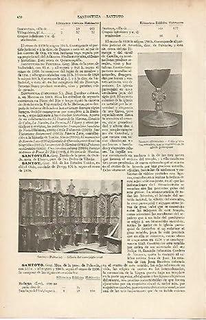 LAMINA ESPASA 19503: Silleri y caliz de: Varios