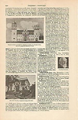 LAMINA ESPASA 4964: Proyectos del arquitecto Martin: Varios Autores