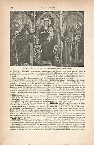 LAMINA ESPASA 22242: La Virgen con el: Varios