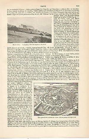 LAMINA ESPASA 22644: Monte Tabor: Varios