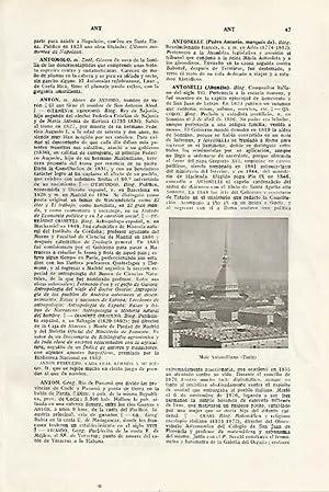 LAMINA SALVAT 80237: Mole Antonelliana en Turin: Varios